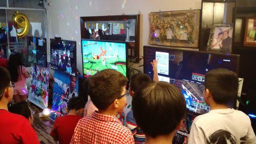 alquiler de juegos electronicos para niños