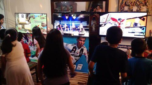 juegos electronicos para fiestas infantiles